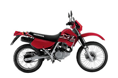 Xl X on Honda Xr 250 Hp
